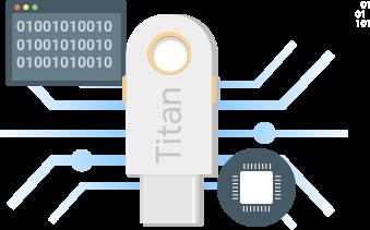 Titan chiave sicurezza Google