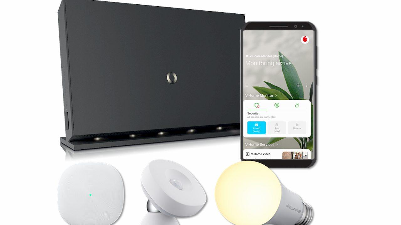 Trasforma la tua casa in una Smart Home con V-Home di Vodafone thumbnail