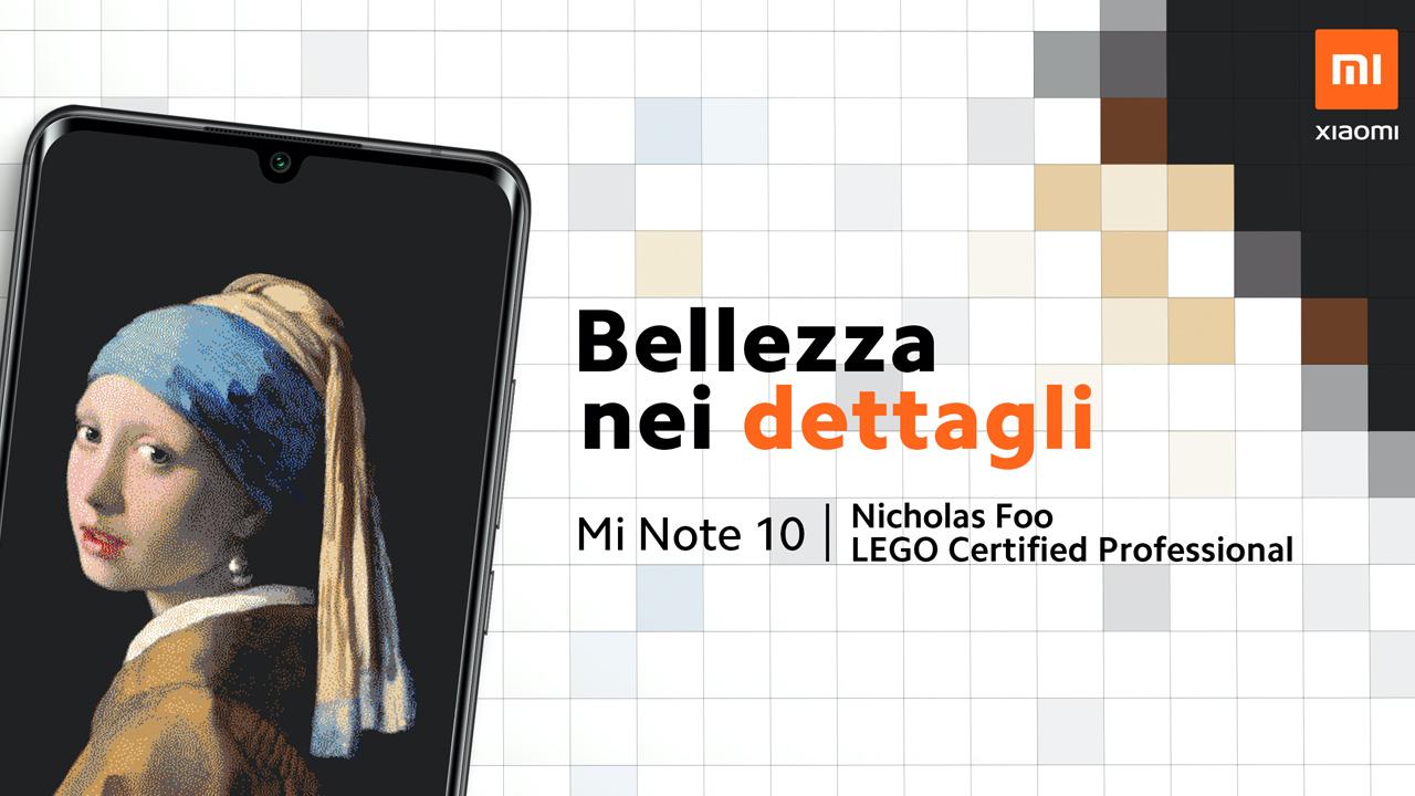 Xiaomi Mi Note 10 e LEGO: la bellezza è nei dettagli thumbnail