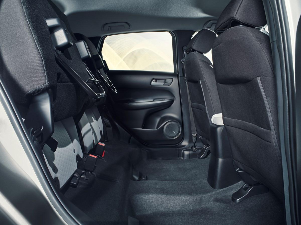 Nuova Honda Jazz Interior Magic Seats