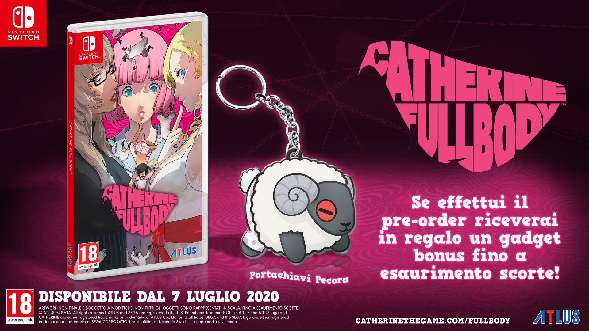 Catherine Full Body: Intrighi, incubi e puzzle anche su Switch thumbnail
