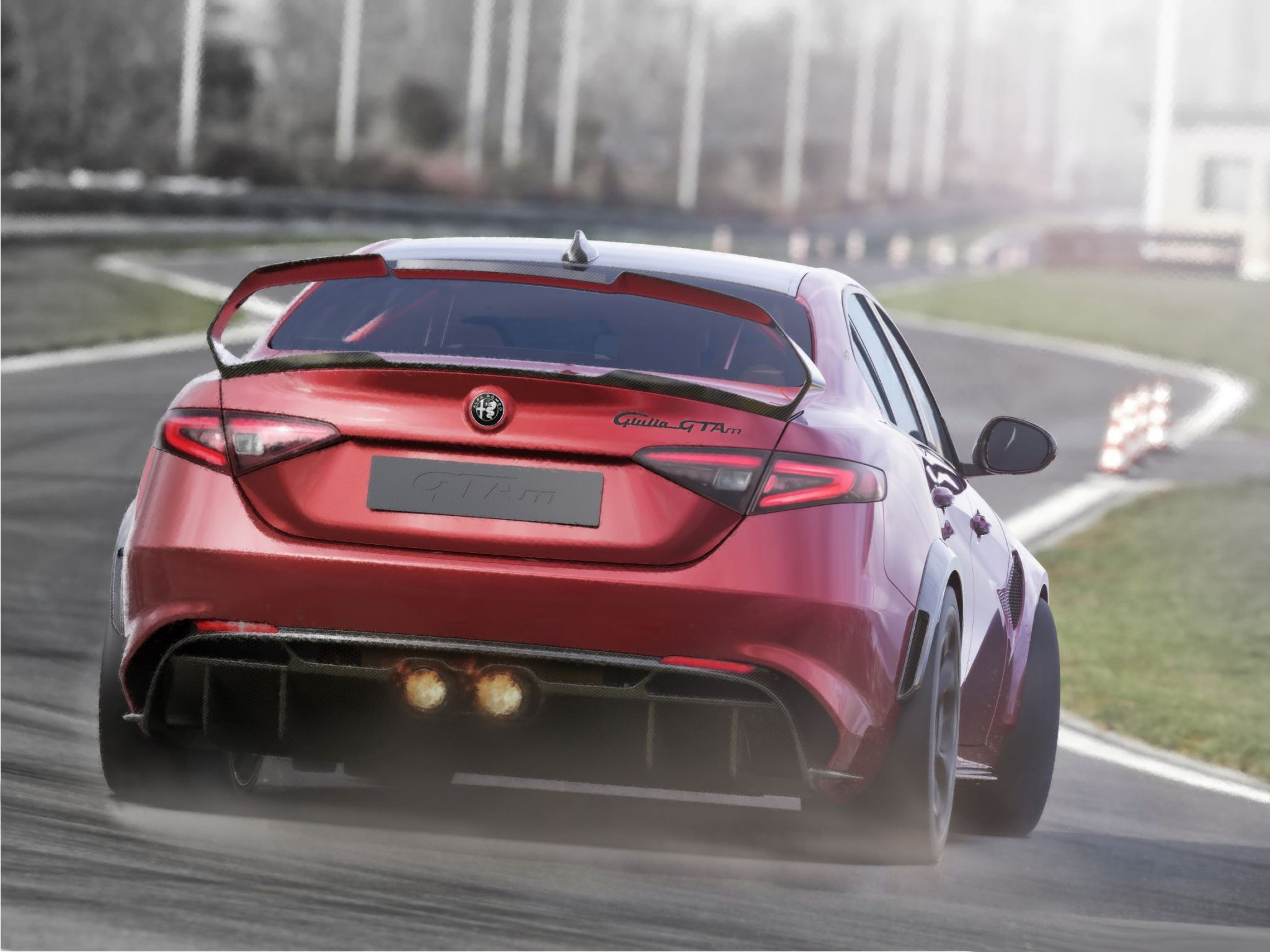Alfa Romeo Giulia GTA GTAm pista 2