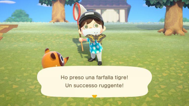 Animal Crossing New Horizons guida PETA pesci insetti Gennaio
