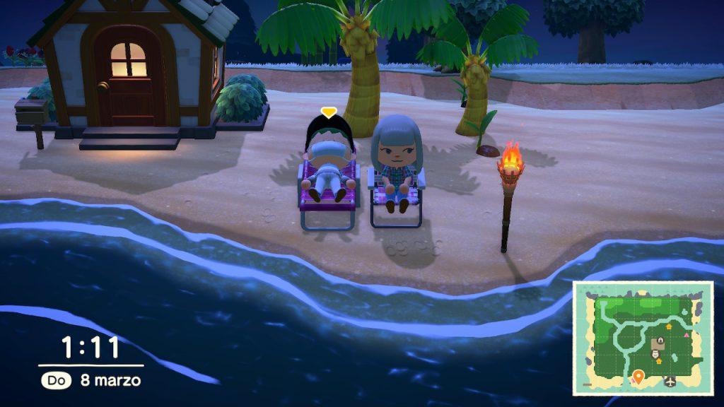 Animal Crossing New Horizons multiplayer locale
