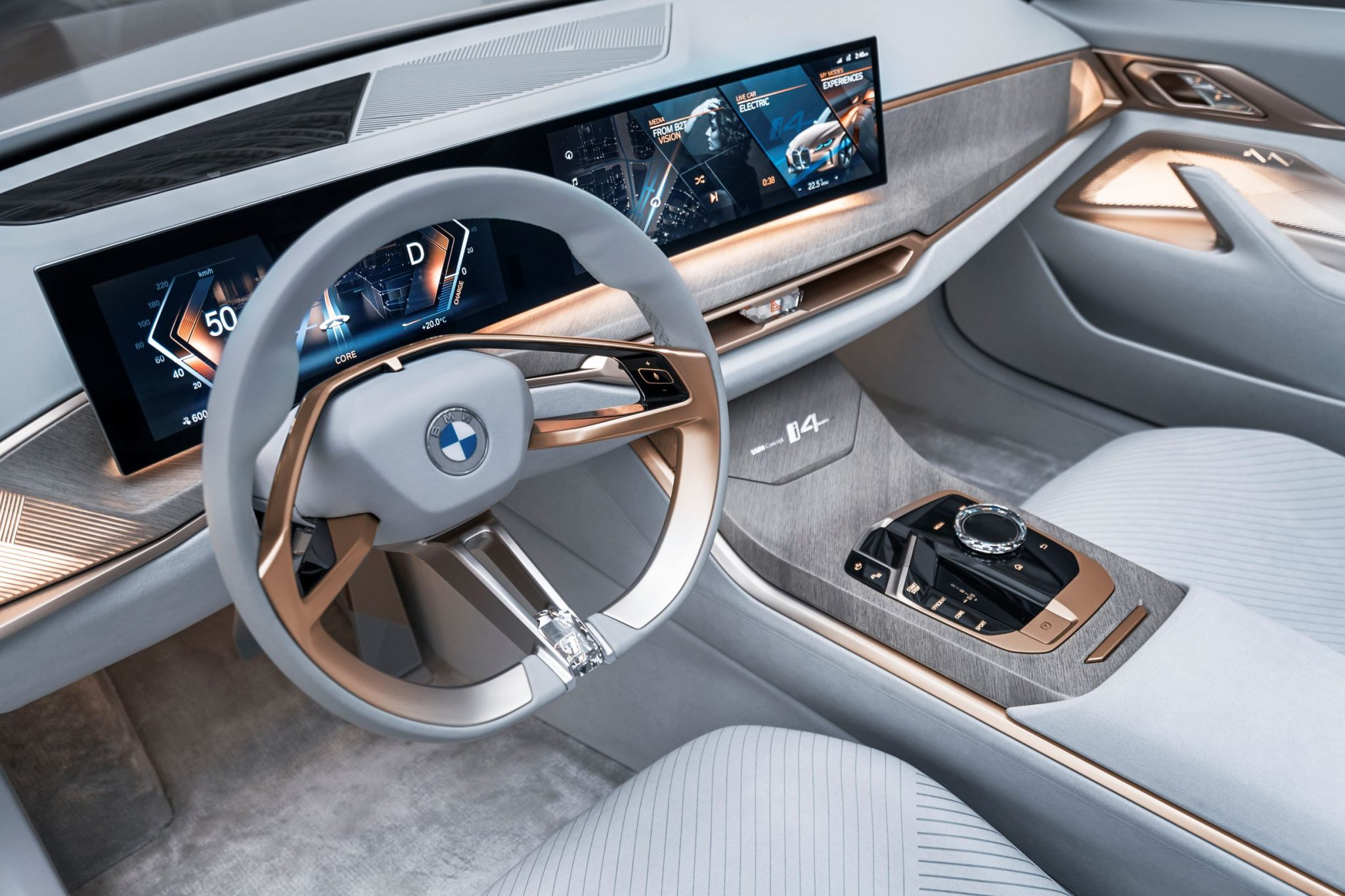 BMW Concept i4 interni
