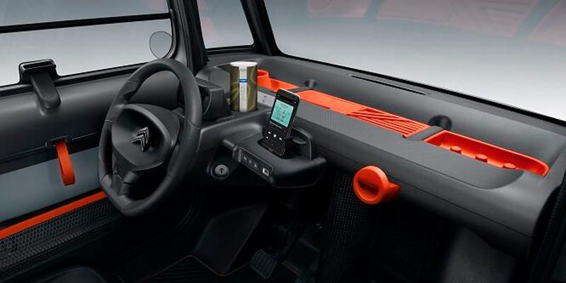 Citroën Ami interni