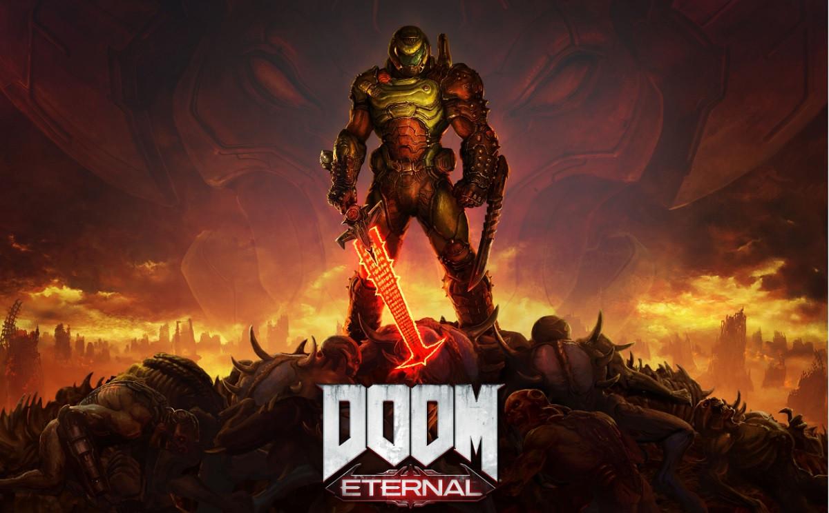 DOOM Eternal si mostra nel sanguinoso trailer di lancio thumbnail