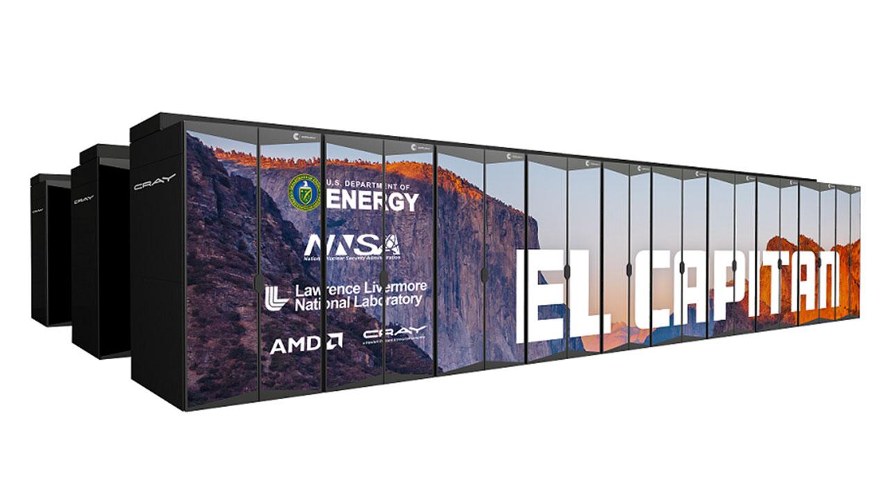 El Capitan è il nuovo supercomputer alimentato da componenti AMD thumbnail