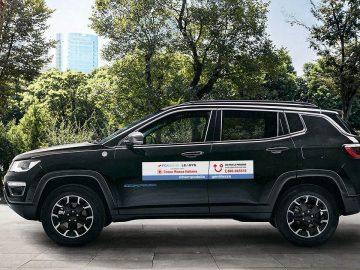 FCA Bank donazione CRI jeep