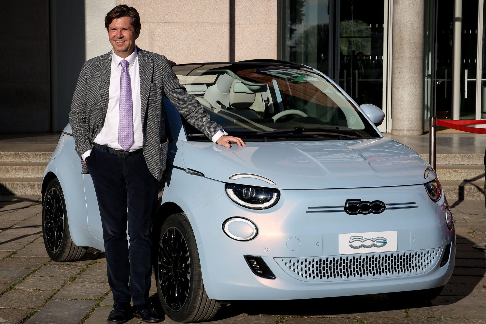 FIAT 500 Elettrica con Olivier Francois