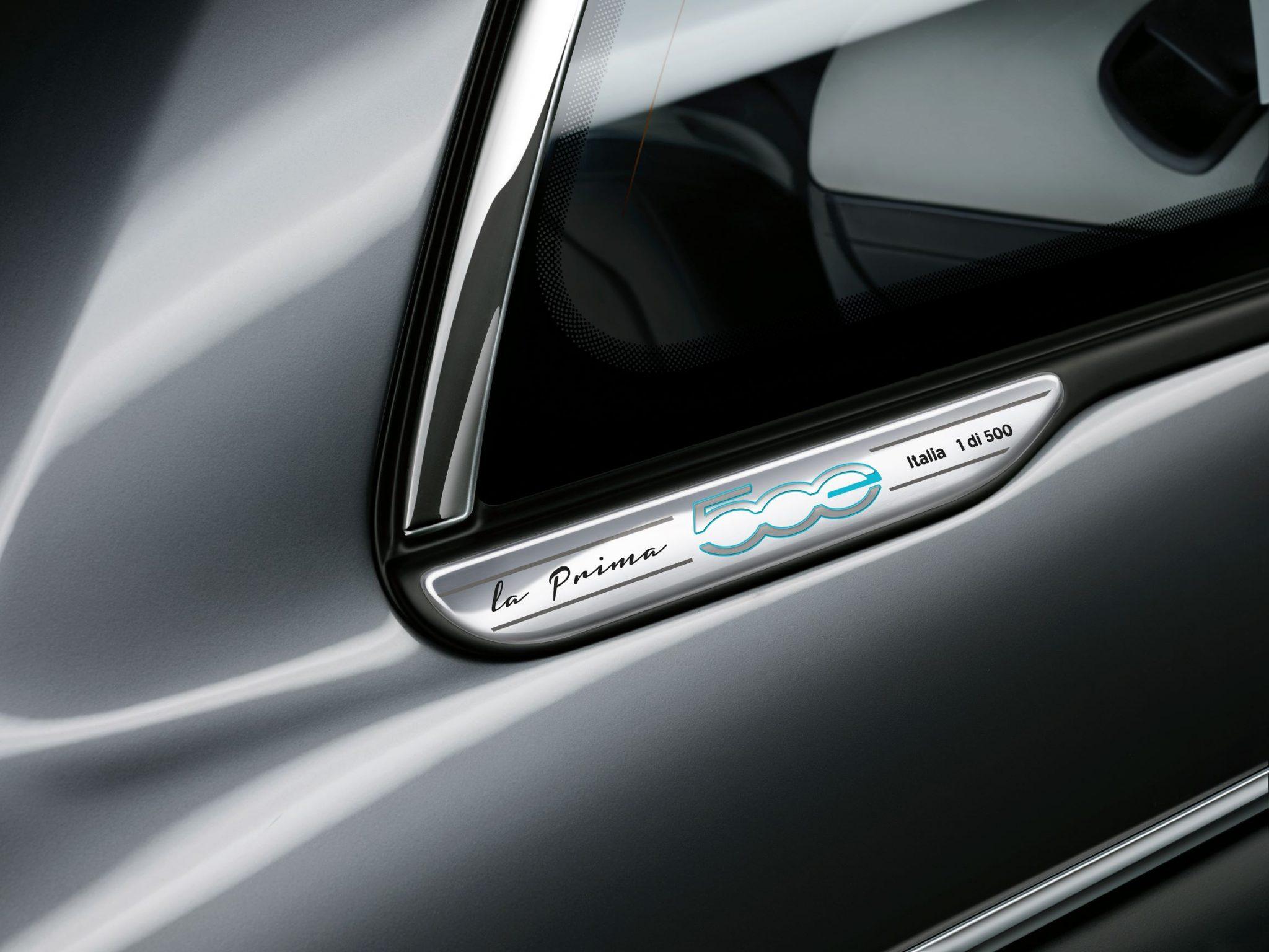 FIAT 500 Elettrica foto La Prima