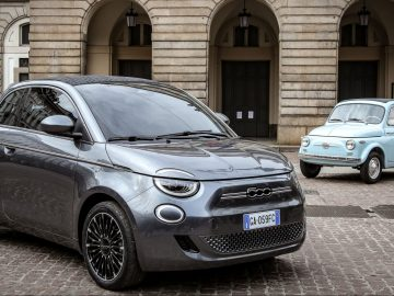 FIAT 500 elettrica copertina