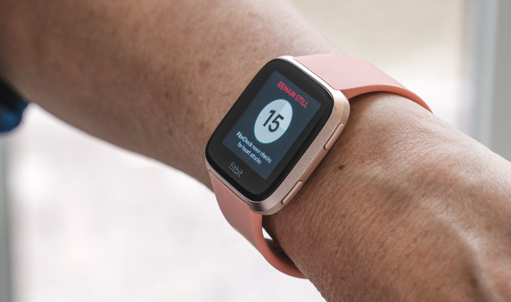 Fitbit adesso monitora la salute cardiaca con Fibricheck thumbnail