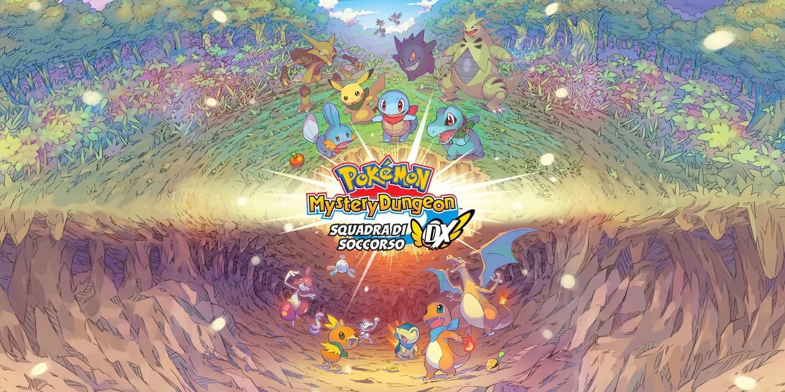 Pokémon Mystery Dungeon Rescue Team DX recensione: così uguale e così diverso. thumbnail