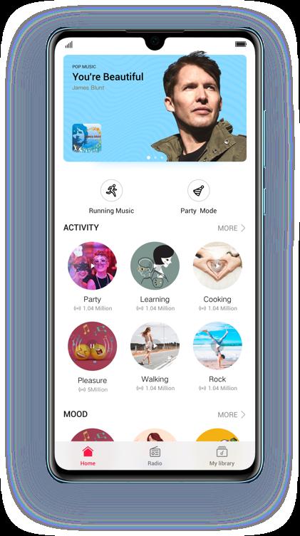 Huawei Music gratis 3 mesi