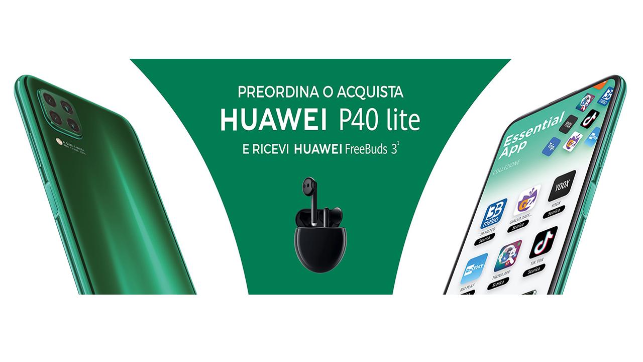 Huawei ti premia se acquisti un P40 Lite thumbnail