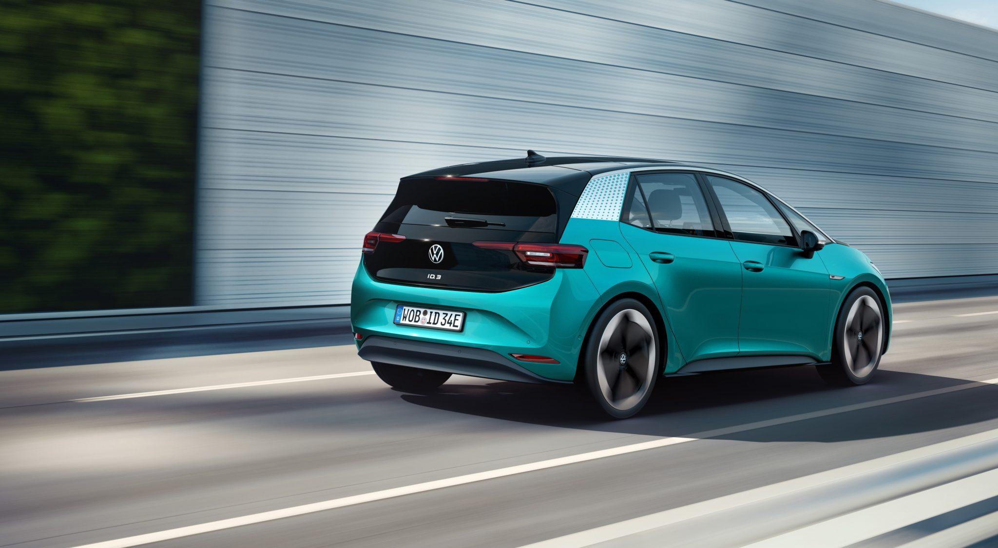 Volkswagen ID.3 posteriore