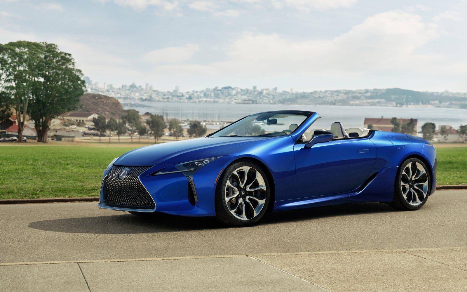 Lexus LC cabrio frontale