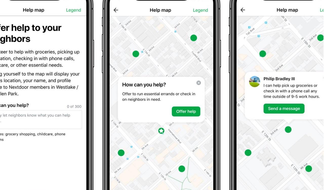 Nextdoor avvia una funzione per aiutare i vicini durante la quarantena thumbnail