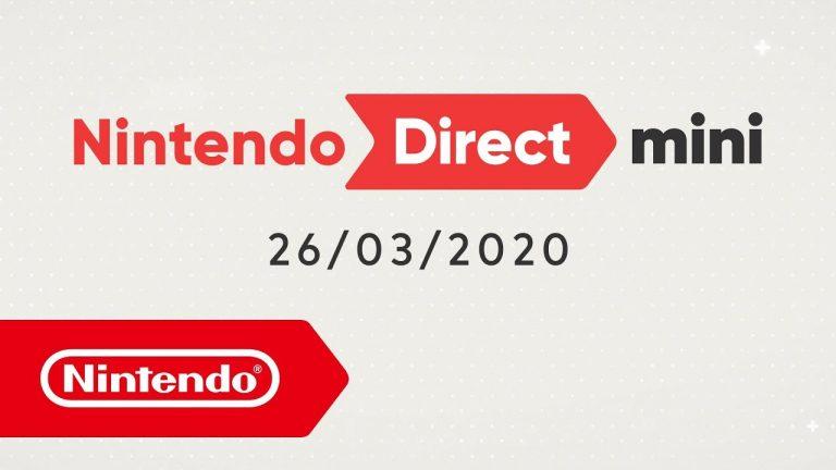 Nintendo Direct Mini novità