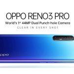 Oppo Reno 3 Pro ufficiale India