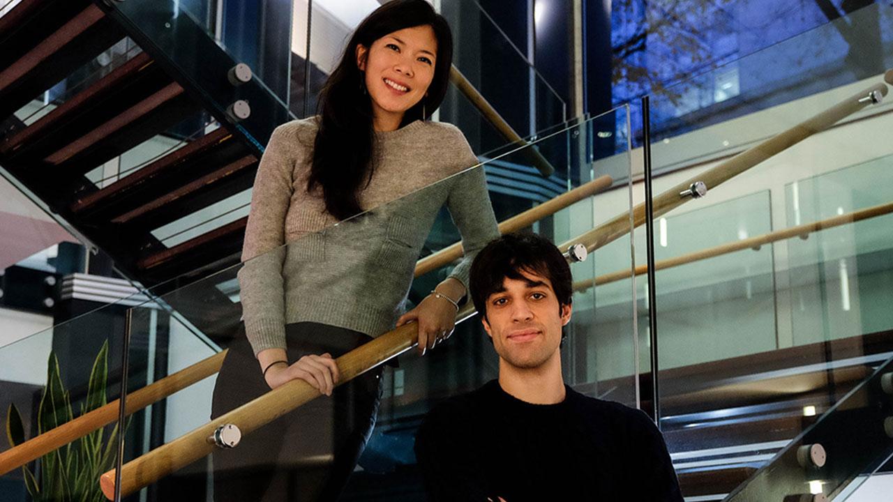 Silvia Wang e Marco Ogliengo