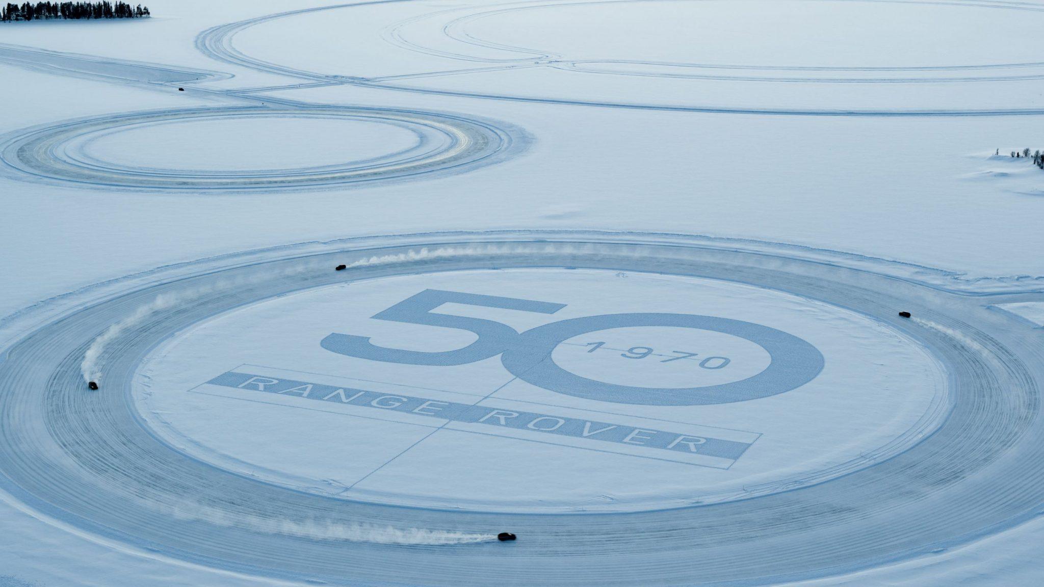 Una medaglia d'oro olimpica e Range Rover sul ghiaccio: cosa può andare storto? thumbnail