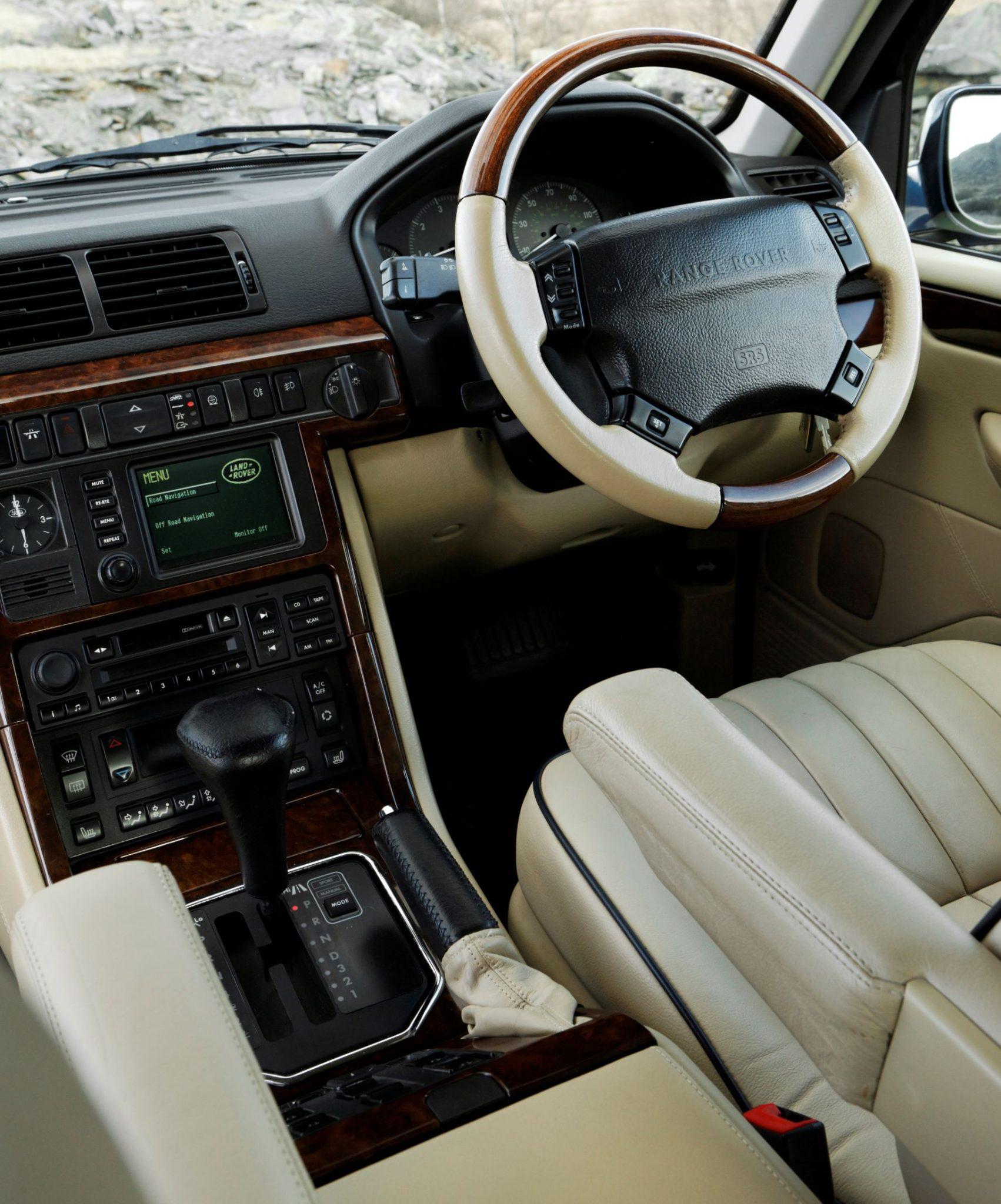 Range Rover P38 interni