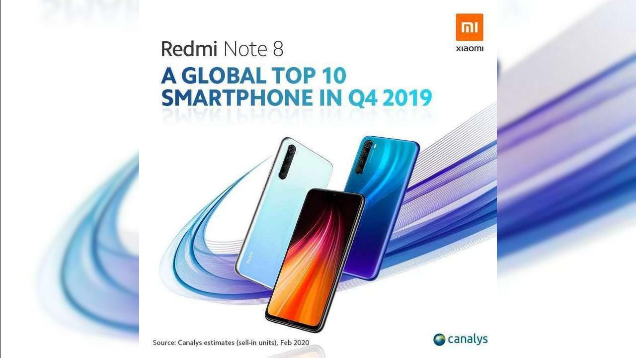 Canalys classifica Redmi Note 7 e 8 come i migliori acquisti dell'anno thumbnail
