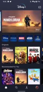 Disney Plus Android