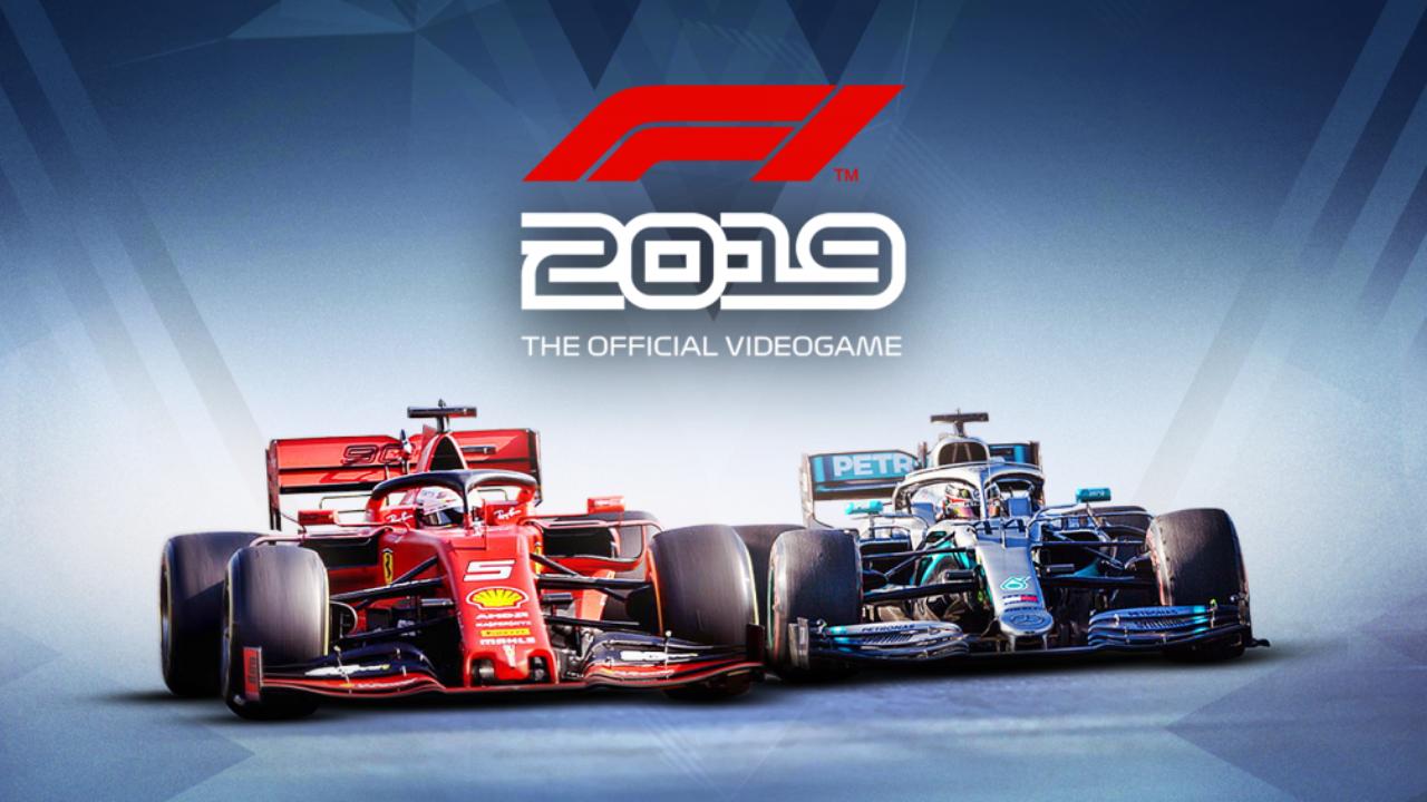 Simulatori di guida F1 2019 cover