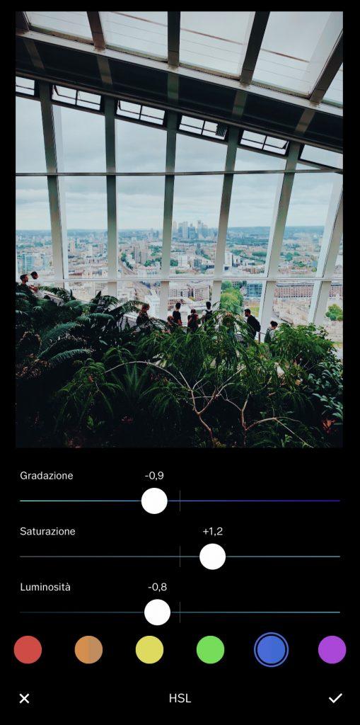 vsco, app editing fotografico, smartphone