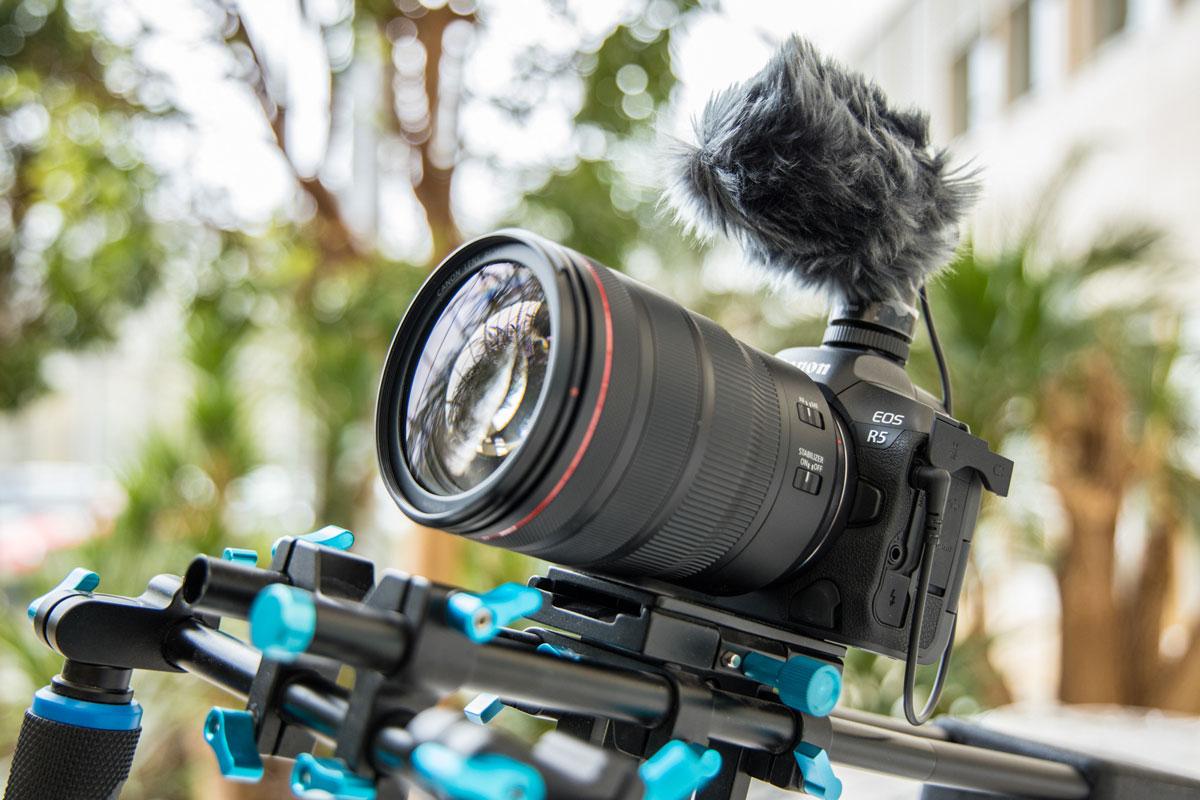 EOS R5: registrazione RAW 8K in camera thumbnail