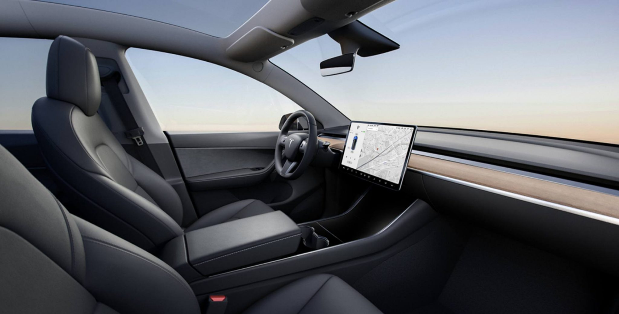 Tesla Model Y interni