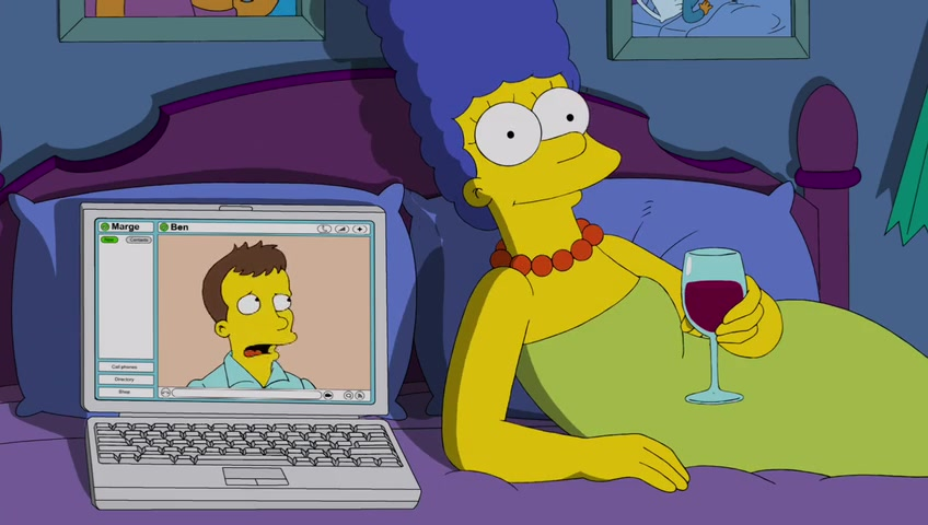 The-Simpsons-Season-24-Episode-22-coppia coronavirus