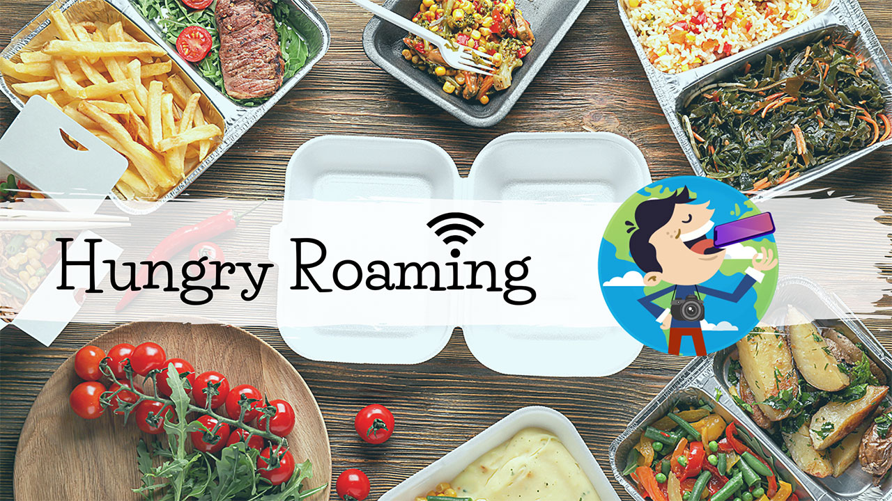 Giro del mondo in delivery | Hungry Roaming thumbnail
