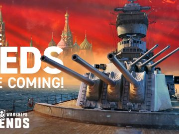 World of Warships Legends guerra e pace