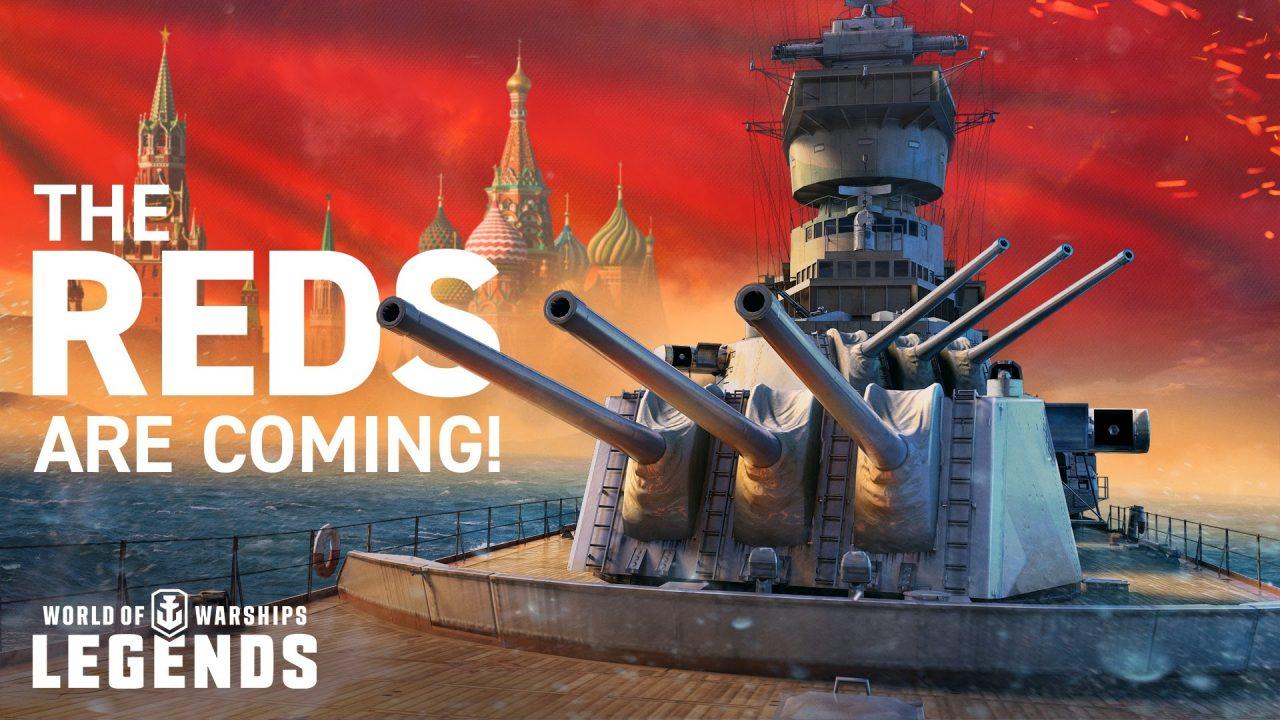 World of Warships: Legends si aggiorna, arriva la marina militare russa thumbnail