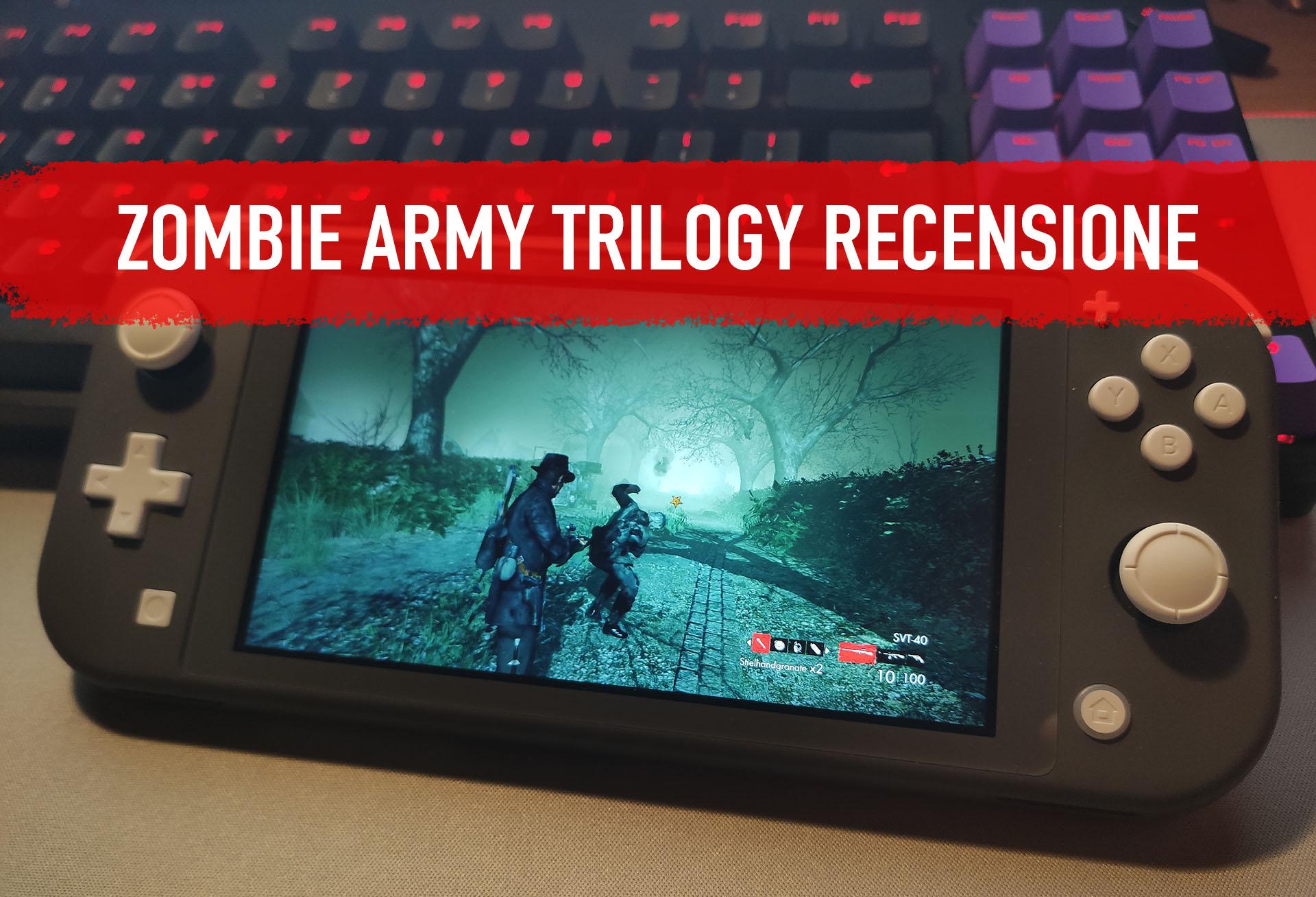 Zombie Army Trilogy recensione: fuoco e fiamme su Berlino thumbnail