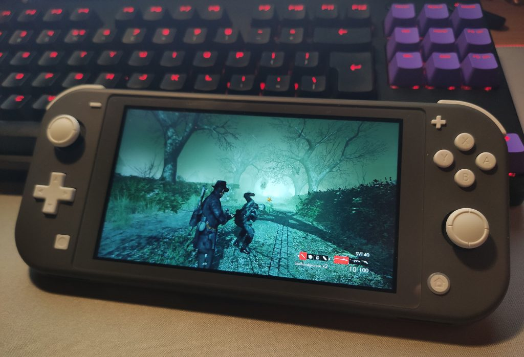 Zombie Army Trilogy Switch Lite