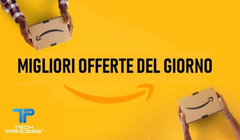 Amazon offerte di oggi: tech, smartphone, TV, videogiochi e tanto altro