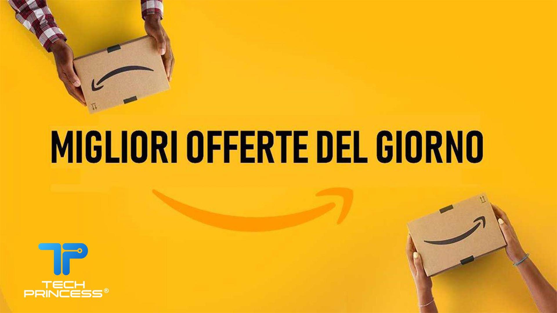 Amazon offerte di oggi: tech, smartphone, TV, videogiochi e tanto altro thumbnail
