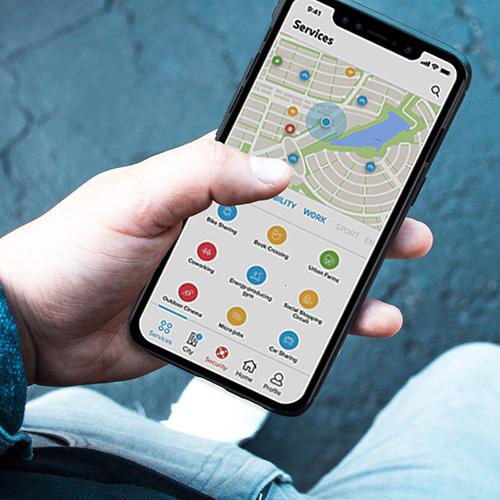 app quartiere smartphone