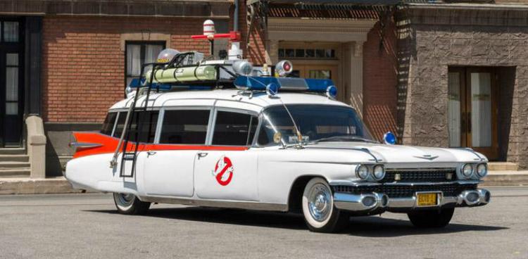 auto di domani ghostbuster
