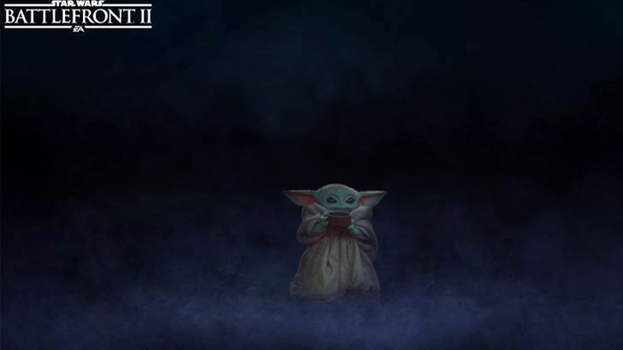 Perché non giocare con un piccolo Baby Yoda? thumbnail
