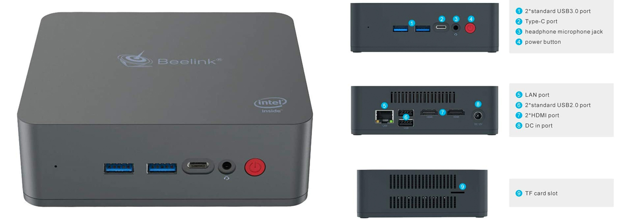 beelink u55 mini pc sotto i 300€