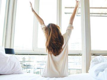 svegliarsi mattina esercizi domicilio