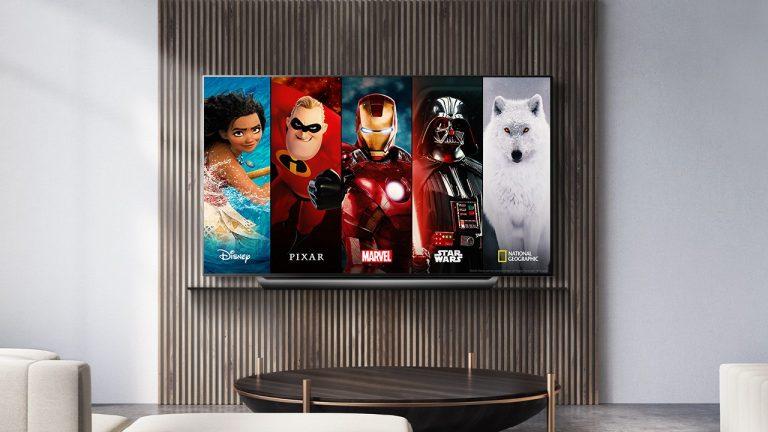 Disney+ tv lg