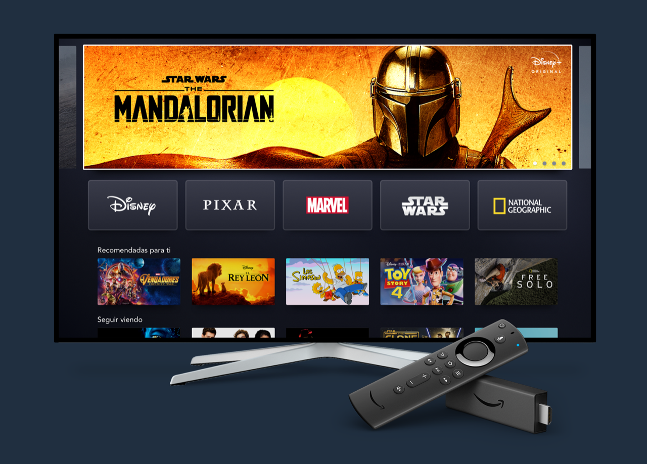 Disney+ e Amazon Fire TV Stick: annunciata compatibilità ufficiale thumbnail