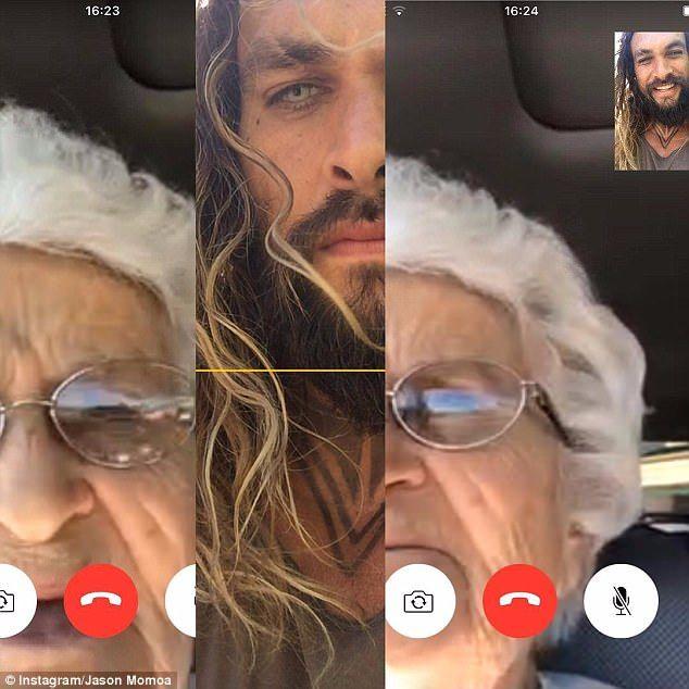 videochiamare telefono anziani nonna momoa